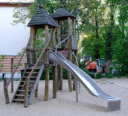 zjeżdżalnia rynna - zjeżdżalnia dla dzieci - zjeżdżalnia kręcona - zjeżdżalnie kręte